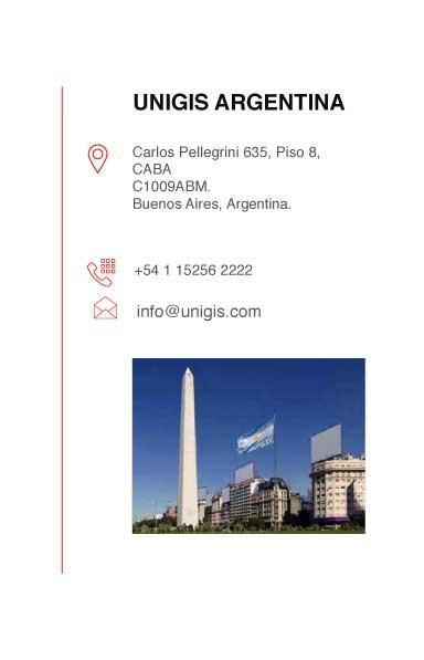 direccion en argentina unigis